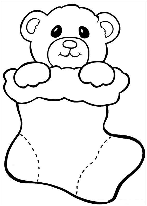 567x794 Toddler Coloring Pages For Christmas