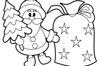 350x230 Beautiful Kids Menu Coloring Page