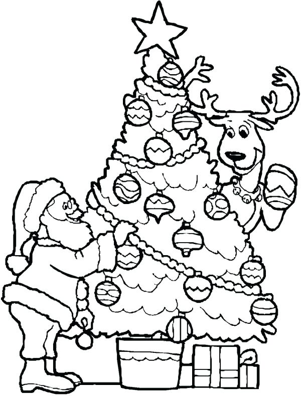 600x790 Christmas Coloring Pages For Middle School Color Bros
