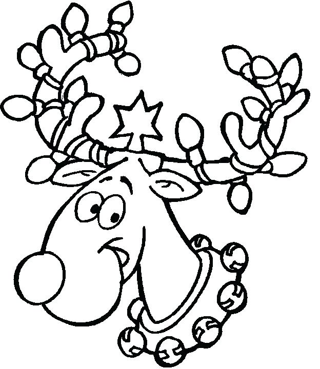 Christmas Coloring Pages For Preschoolers At Getdrawings Free Download