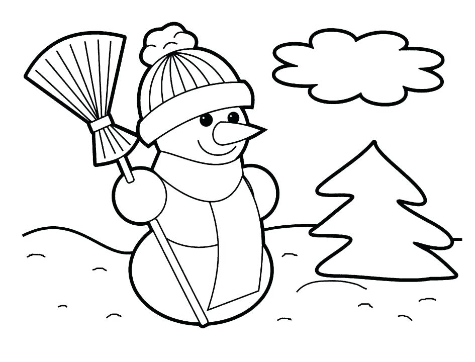 945x720 Preschool Christmas Coloring Pages Coloring Pages Preschool