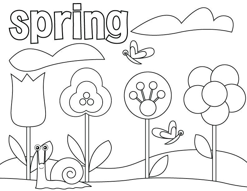 792x612 Free Printable Coloring Pages For Preschoolers Preschool Printable