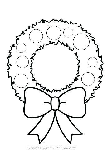 343x485 Preschool Christmas Coloring Pages Free Printable Preschool