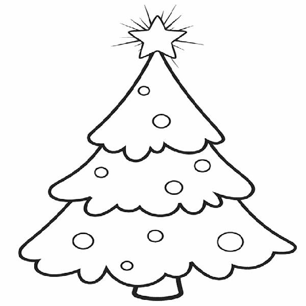 600x600 Printable Christmas Coloring Pages For Preschool
