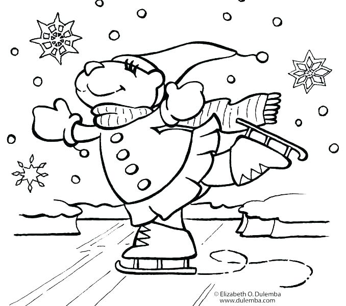 678x600 Christmas Coloring Page Free Coloring Pages For Preschoolers Best