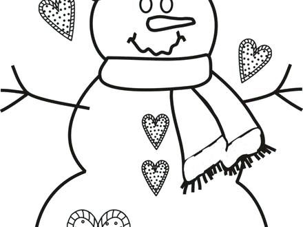 440x330 Frosty The Snowman Coloring Pages Christmas Coloring Pages Frosty