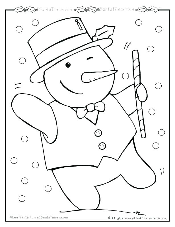 615x796 Snowman Coloring Pages Printable Snowman Coloring Pages Christmas