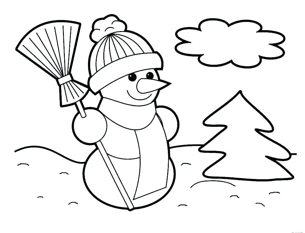 974x742 Snowman Coloring Pages Printable Snowman Coloring Pages To Print