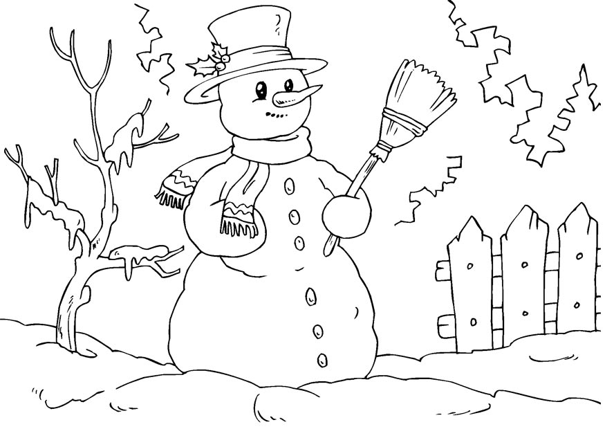 875x620 Snowman Coloring Pages To Print Allmadecine Weddings White