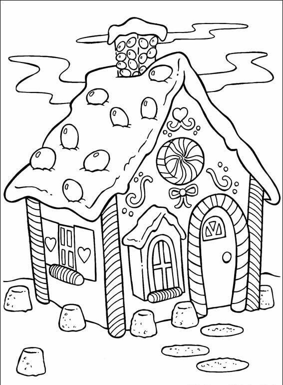 567x770 Printable Christmas Coloring Pages You've Never Seen Before