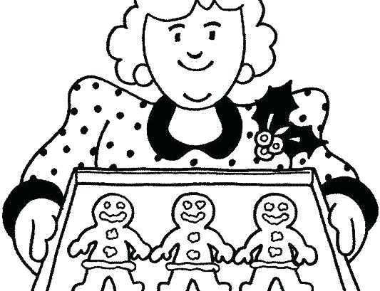 533x409 Gingerbread Coloring Pages Gingerbread Man Coloring Lesson