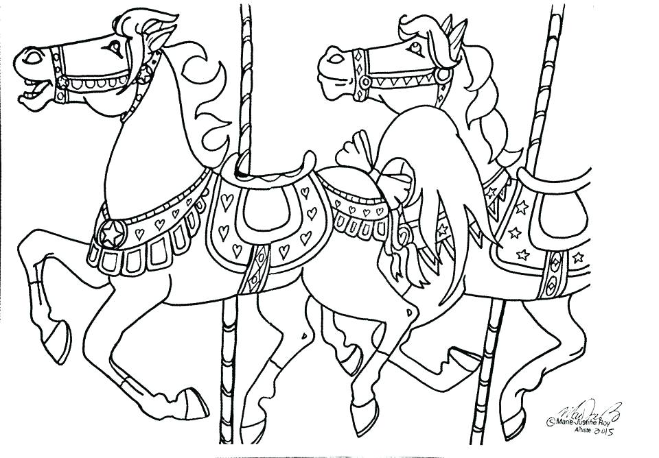 960x668 Merry Christmas Coloring Page Merry Go Round Coloring Pages Free