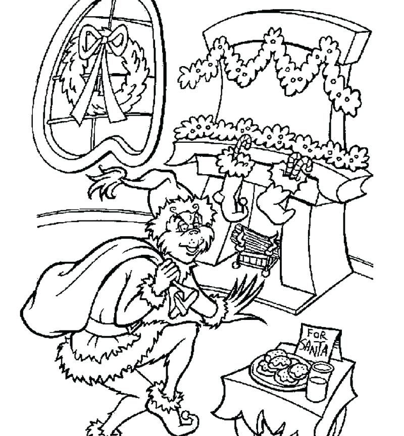 800x864 The Grinch Who Stole Christmas Coloring Pages Coloring Pages