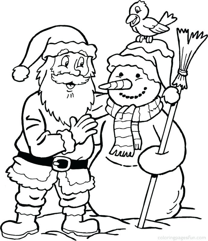 690x800 Free Santa Coloring Pages Free Ornament Coloring Page Creations