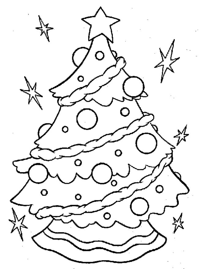 653x877 Free Christmas Coloring Pages