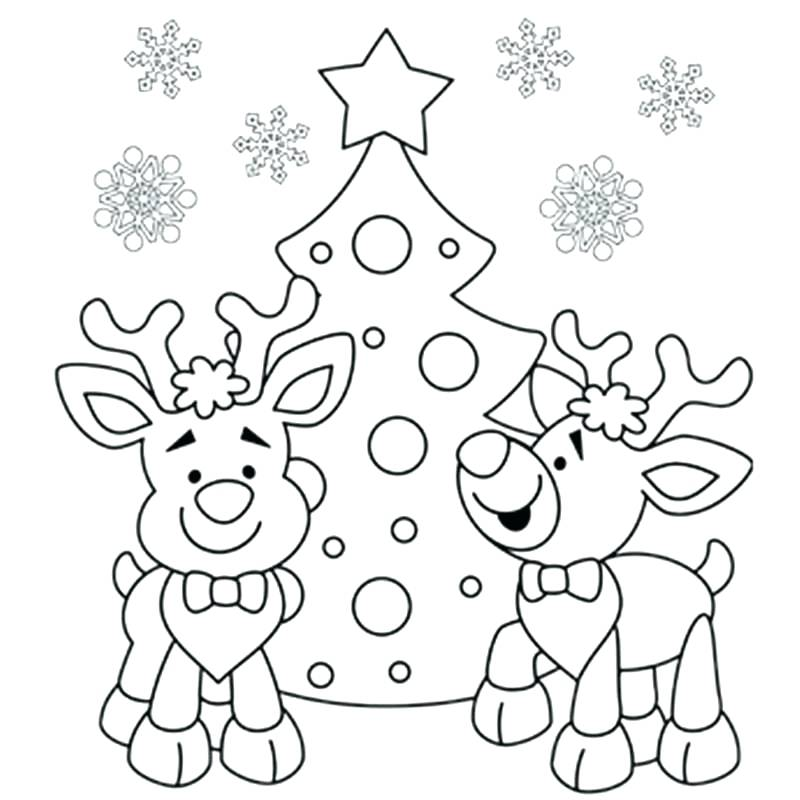 800x800 Coloring Sheets For Christmas Coloring Sheets To Print For Free
