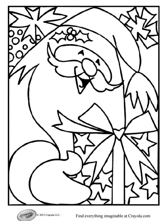 579x768 Free Christmas Coloring Pages