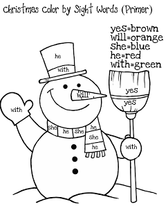 243x320 Sight Word Coloring Pages