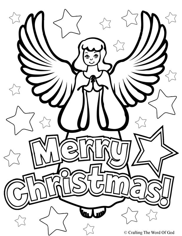 618x800 Christmas Angel Coloring Page Crafting The Word Of God