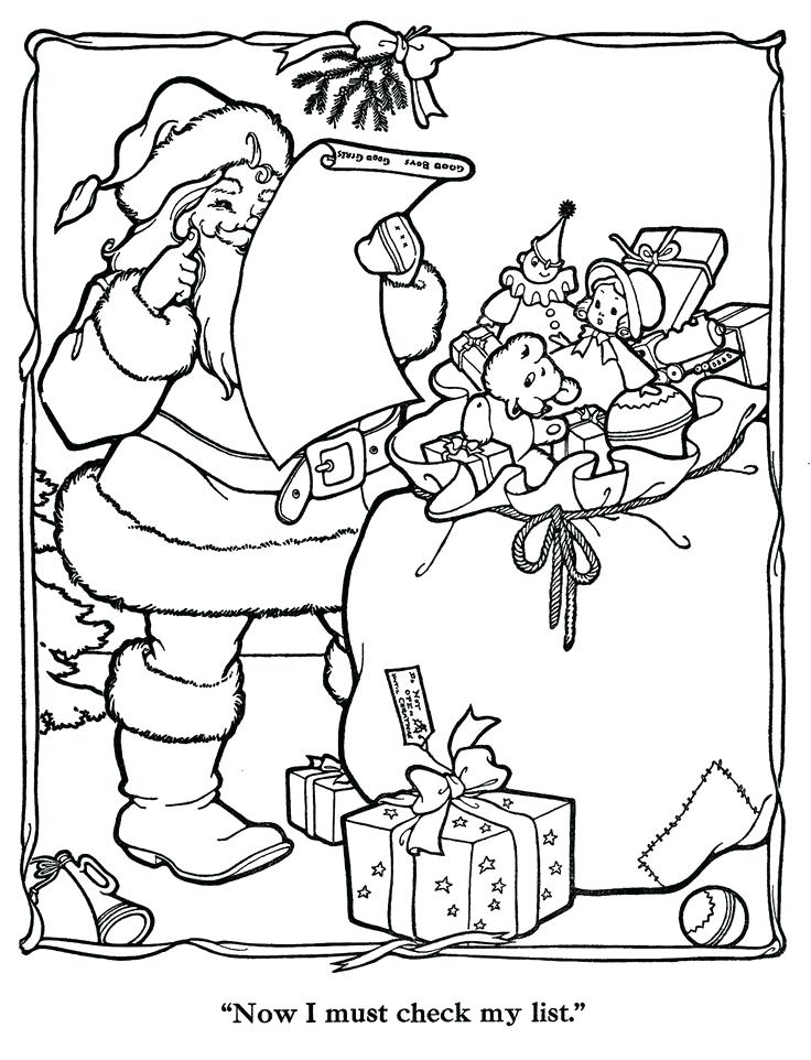 736x962 Vintage Christmas Coloring Pages Vintage Coloring Pages Vintage