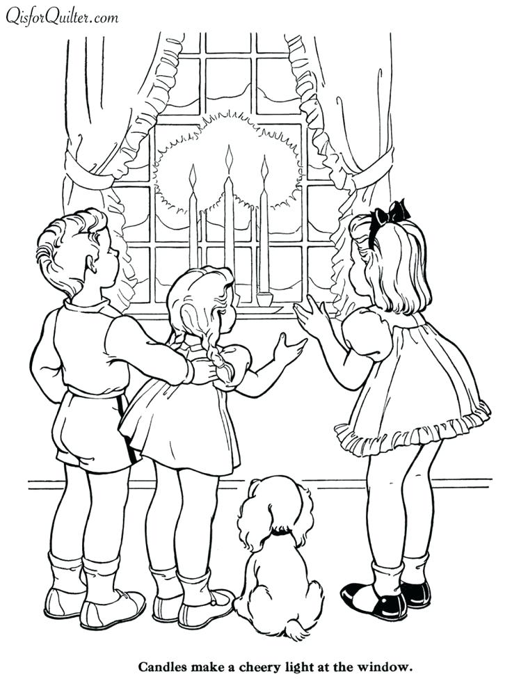 736x999 Vintage Coloring Pages Countdown To Days Free Printable Vintage