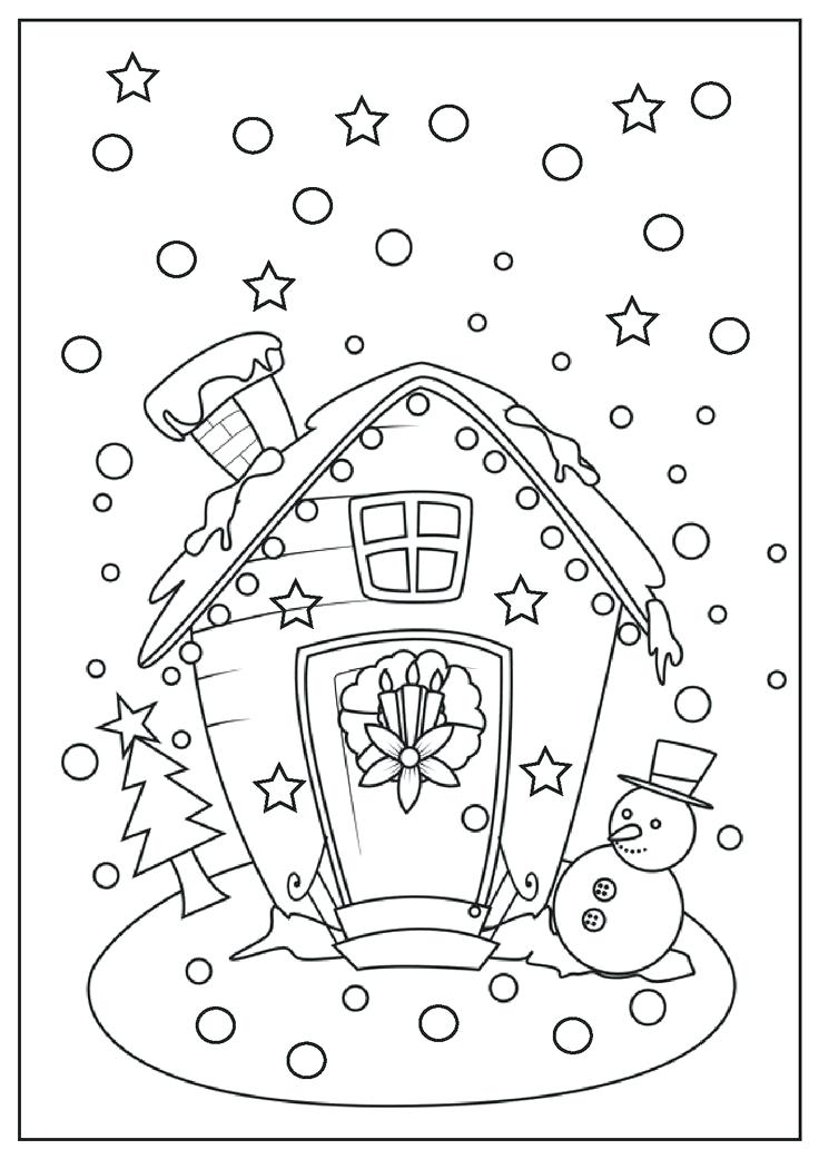 736x1041 Christmas Countdown Coloring Pages Bell Christmas Countdown Color