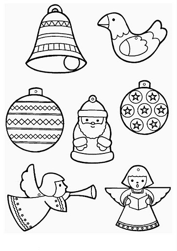 362x512 Christmas Ornament Coloring Page Christmas Ornaments Coloring
