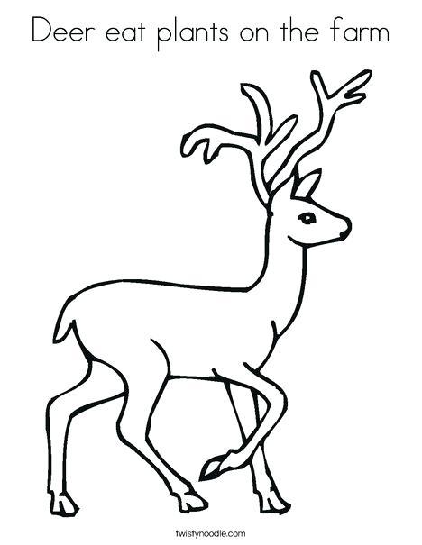 468x605 Deer Coloring Page Camouflage Coloring Pages Deer Printable