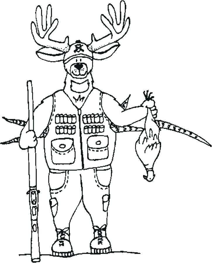 725x900 Deer Coloring Page Excellent Er Coloring Page Online Pages