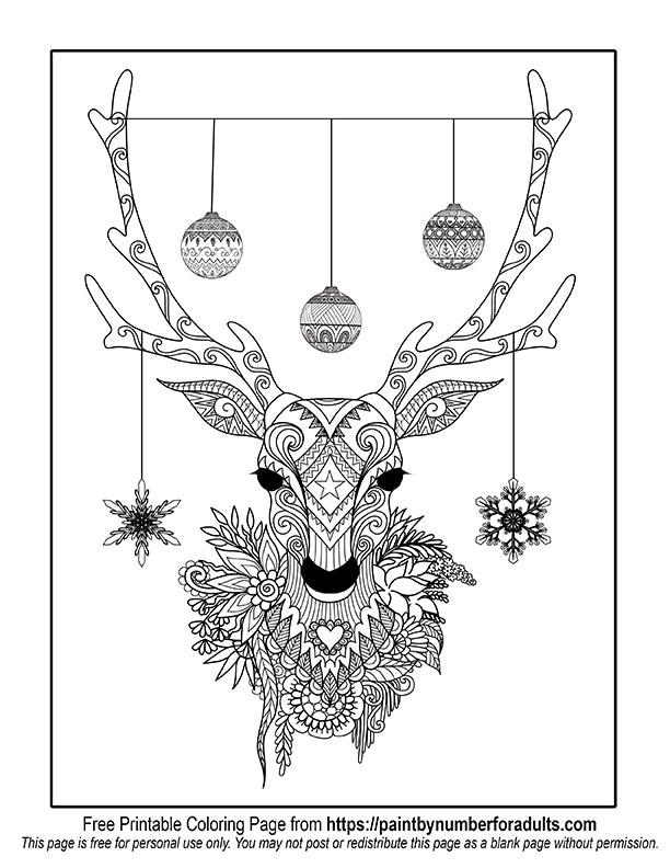 612x792 Free Printable Christmas Coloring Pages Comfy Christmas