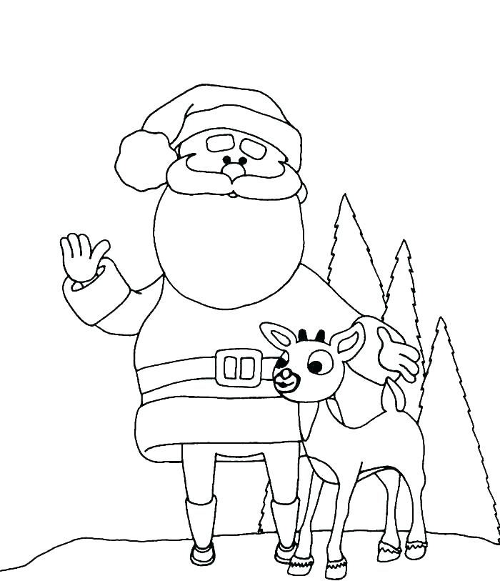 700x813 Deer Coloring Pages