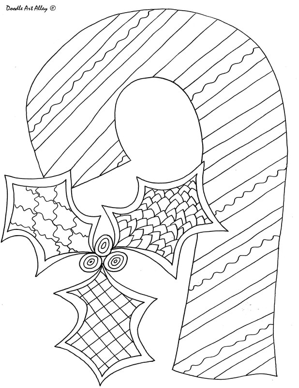 618x800 Christmas Coloring Pages