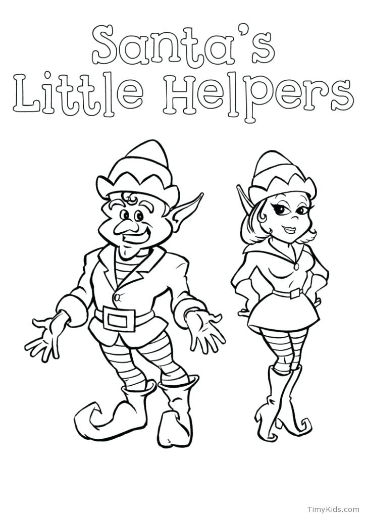 723x1024 Elf On The Shelf Color Pages Buddy The Elf Coloring Pages Elf