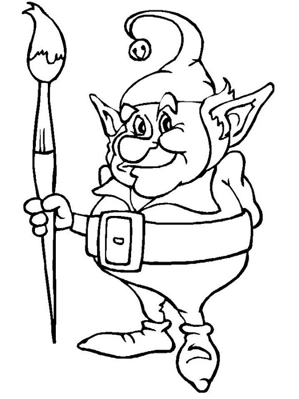 600x800 Elf On The Shelf Coloring Pages Coloring Pages For Free