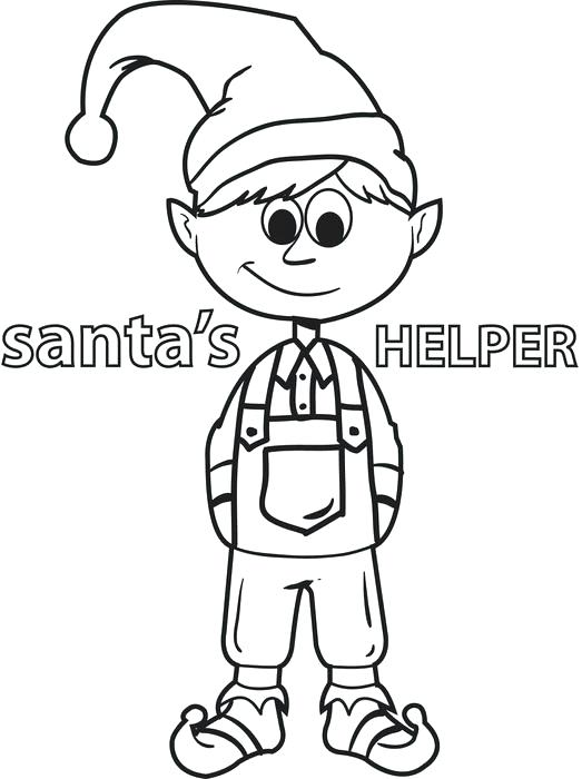 523x700 Elf Coloring Page Girl Elf On The Shelf Coloring Pages Elf
