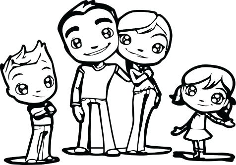 476x333 Coloring Pages For Family