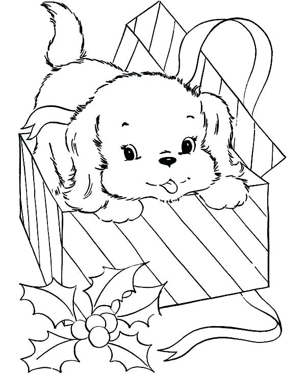600x734 Present Coloring Pages Box Coloring Page Gift Coloring Page