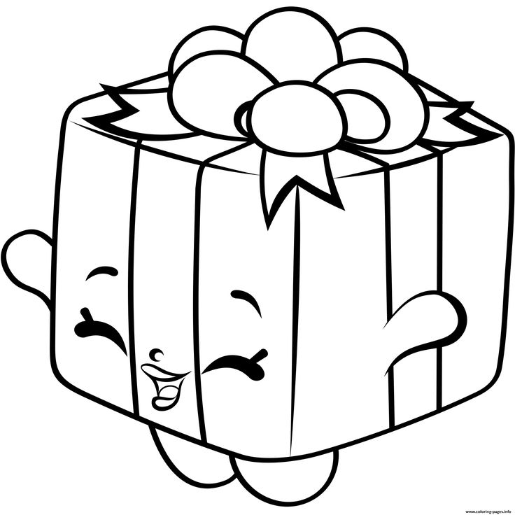 736x736 Shopkins Coloring Pages For Christmas