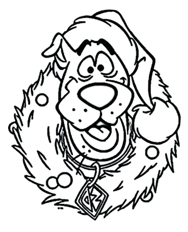 600x738 Coloring Pages Christmas