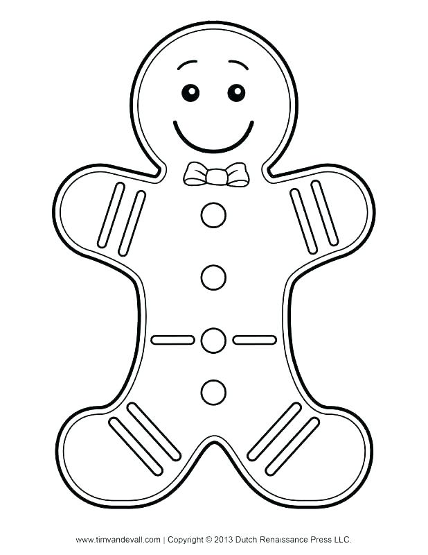 618x800 Gingerbread Coloring Pages Gingerbread Man Coloring Page Free
