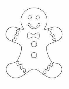 236x304 Christmas Gingerbread Man Coloring Pages Gingrbread Man Color