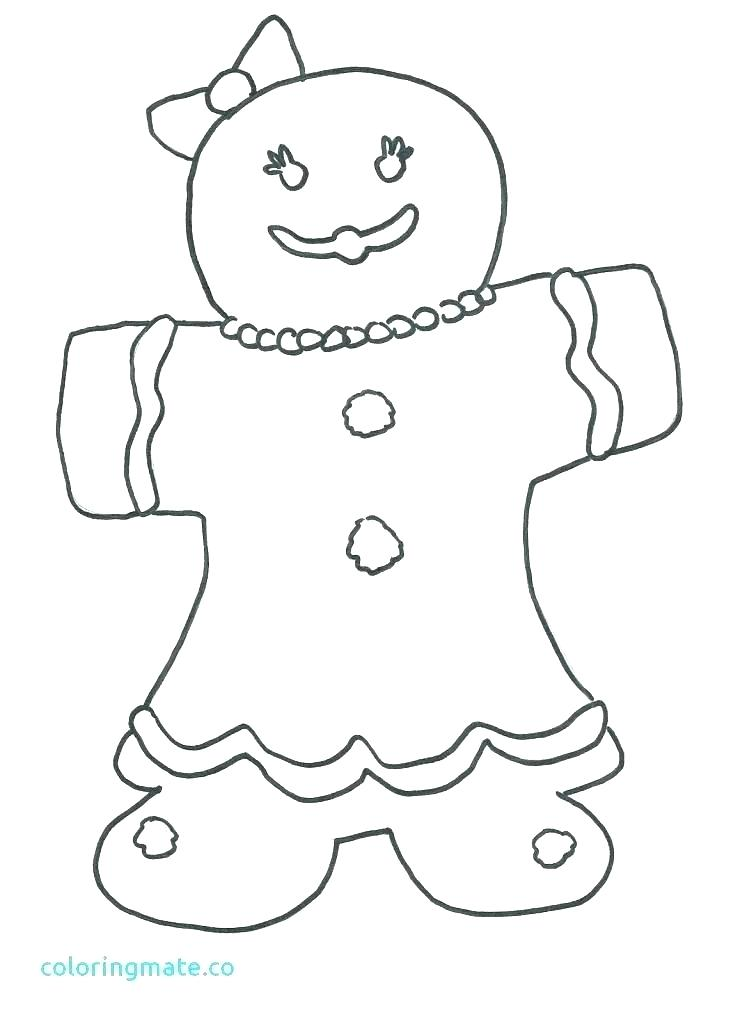 747x1024 Gingerbread Man Coloring Sheets Gingerbread Man Fox Coloring Pages