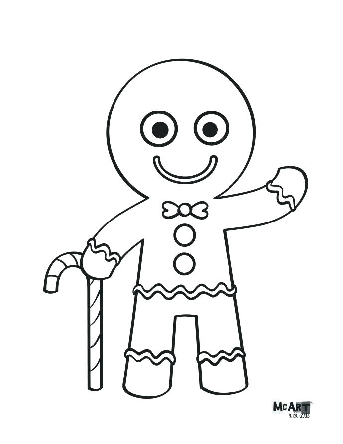 689x892 Gingerbread Man Colouring Pages Gingerbread Man Color Sheet Cute