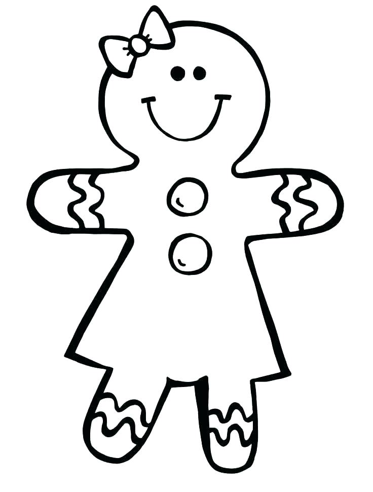 736x970 Gingerbread Man Colouring Pages Sturdy Gingerbread Man Coloring