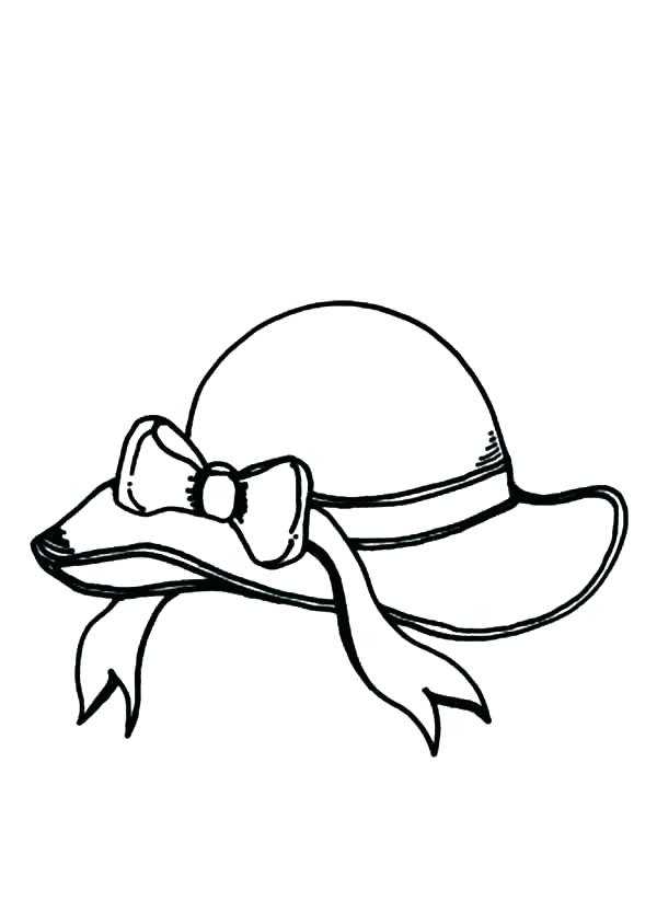 600x823 Outlined Santa Hats Coloring Page Stock Vector Colourbox Outlined