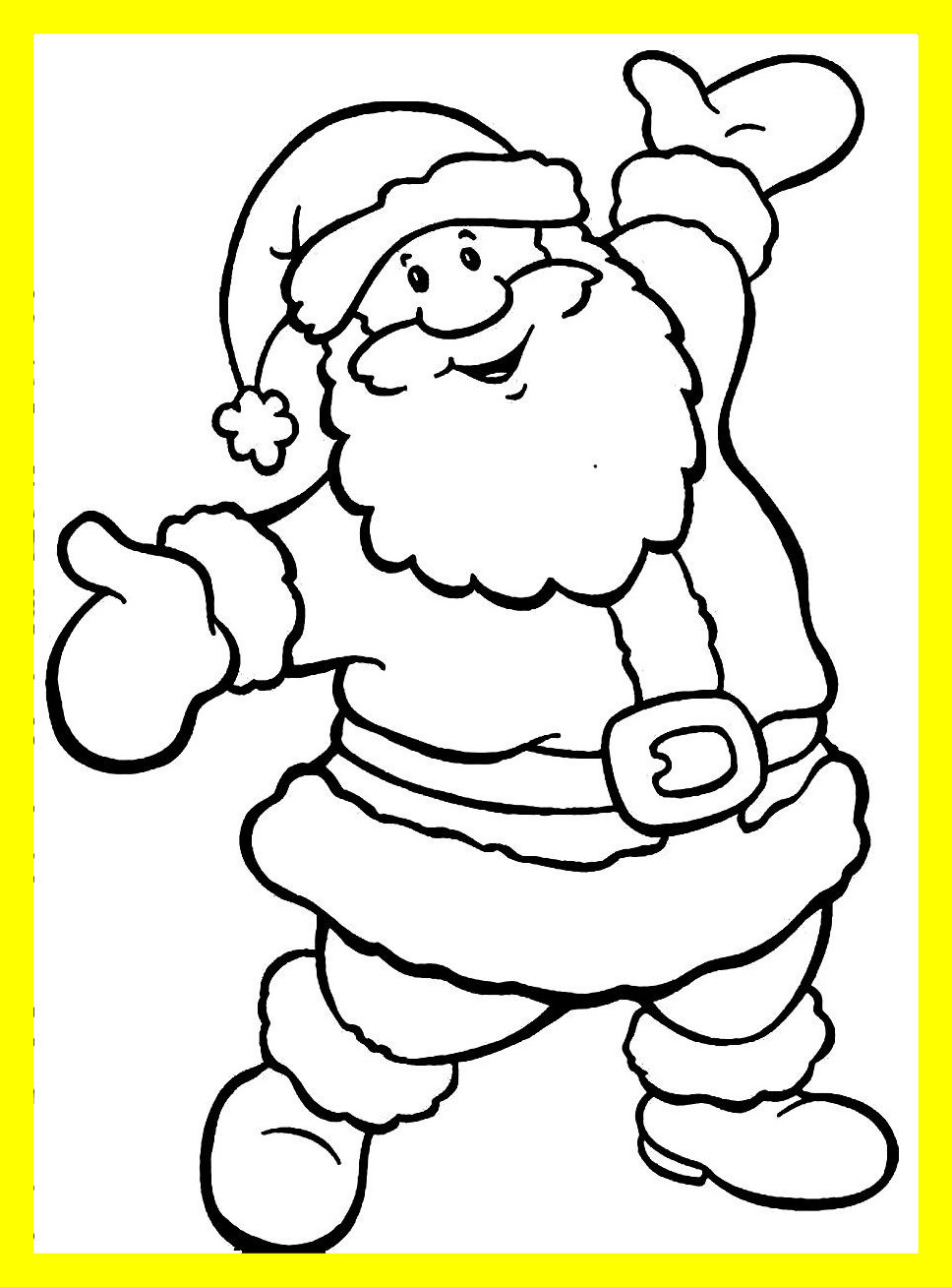 968x1308 Appealing Printable Santa Hat Coloring Pages For Kids Cool Bkids