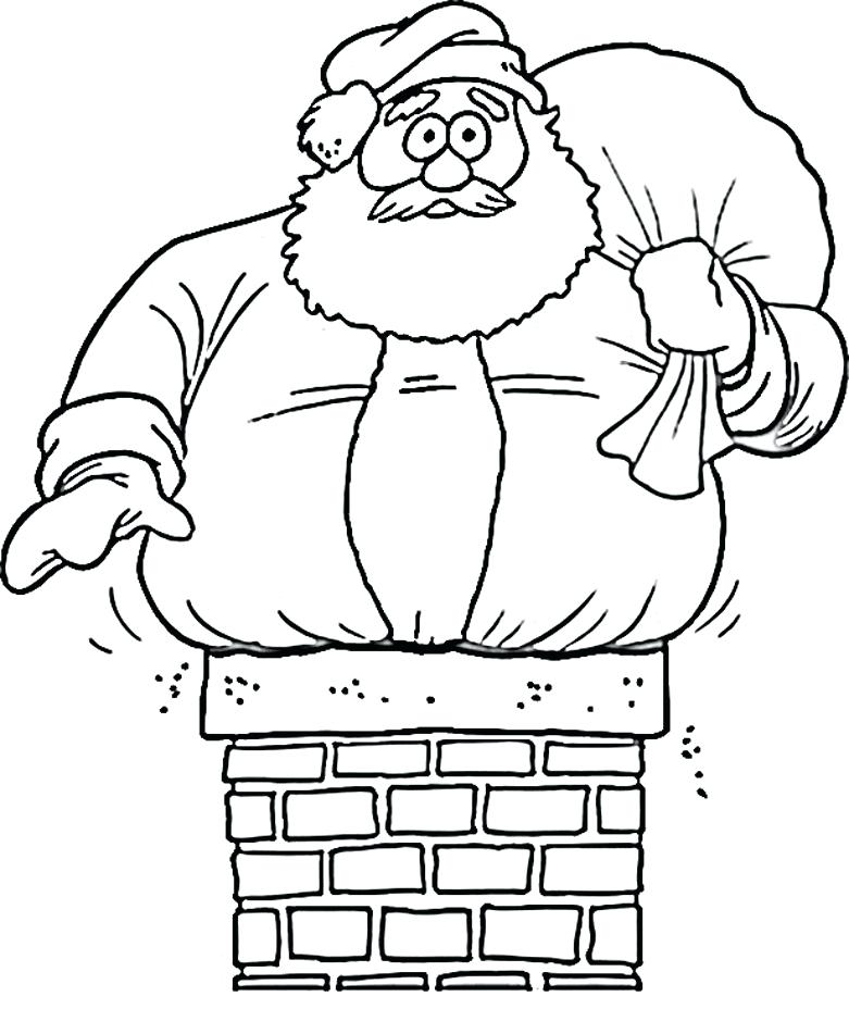 781x951 Christmas Santa Coloring Pages Epic Coloring Pages In Kids