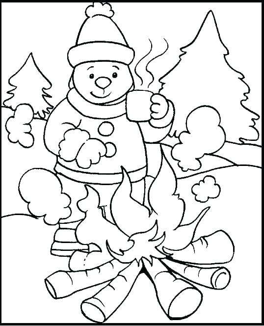 538x664 Free Holiday Coloring Pages Free Preschool Christmas Coloring