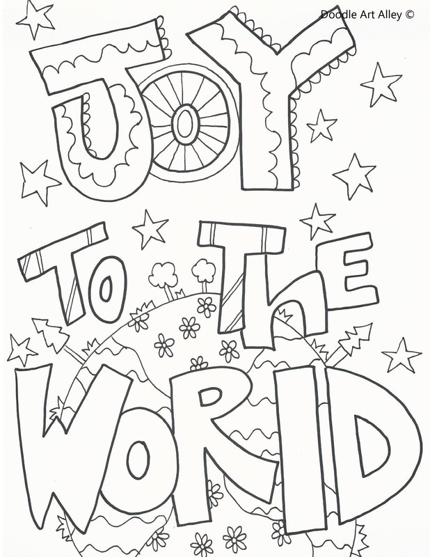 618x800 Holiday Coloring Pages