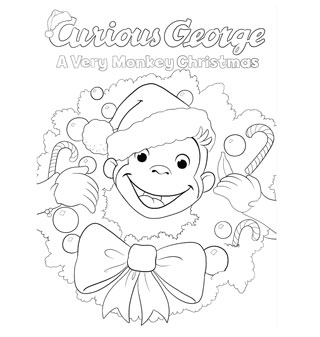 320x337 Pbs Kids Holiday Coloring Pages Printables Happy Holidays